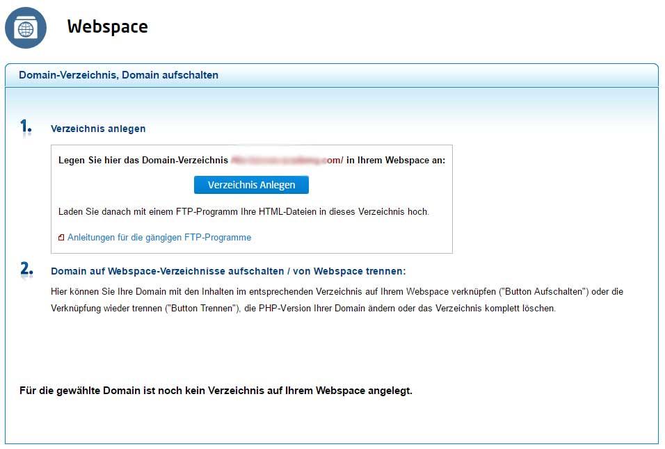 domain und webspace vergleich